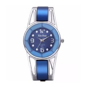 Reloj Brazalete Azul
