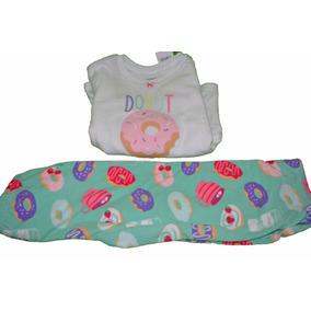 Pijama Para Niño Carters Donut Microfleece