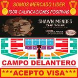 Entradas Shawn Mendes 2019 - Campo Delantero Sectores F Y G!