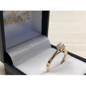 Anillo De Compromiso Oro 14k Swarovski Calidad Diamante