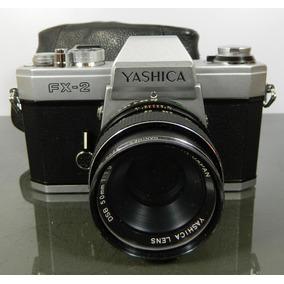 Cámara Vintage Yashica Fx-2 Tl Super Japón