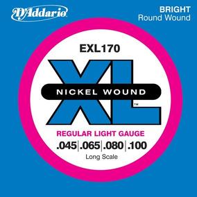 Cuerdas (set) Daddario Para Bajo Electrico 045 Exl170