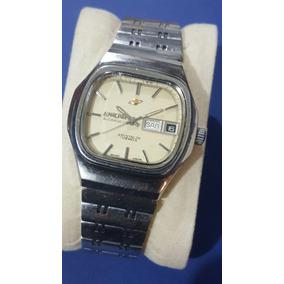 Reloj Enicar Crystal 7x Vintage Automatic Acero