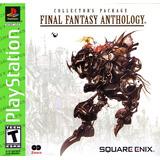 Final Fantasy Anthology (final Fantasy V & Vi) Ps1 Nuevo