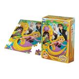 Puzzle Rompecabezas 70 Piezas Disney Rapunzel Mundo Manias