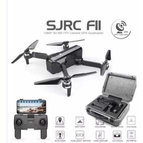 Drone Sjrc F11 + Bateria Extra + Maleta (drone Novo) 1km