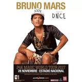 Entradas Concierto Bruno Mars 28 De Noviembre , Estadio Naci