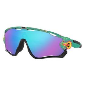 ed8aa02411 Oakley Jawbreaker Azul De Sol - Óculos no Mercado Livre Brasil