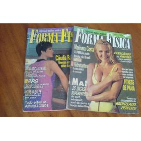 Revista Forma Fisica 13 E 15 / Lote Com Os 2 / Claudia Raia