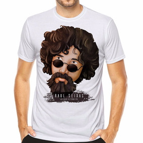 Camiseta Raul Seixas Bandas De Rock Sociedade Alternativa fef25a47a3c