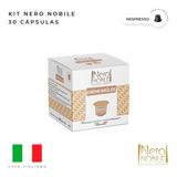 30 Capsulas Crème Brulee Nero Nobile-compativel Nespresso