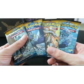 Pokemon Tcg - Booster (3un) Sun Moon (sol E Lua) Inglês