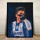 Quadro C/ Vidro Dybala Juventus - 45x35cm #3
