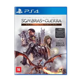Jogo Sombras Da Guerra Definitive Ed Ps4 Br - Wg5319ag