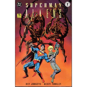 Revista Superman Aliens Dc Comics En Español