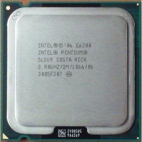 Processador Dual-core E6300 2.80 Ghz Lga 775