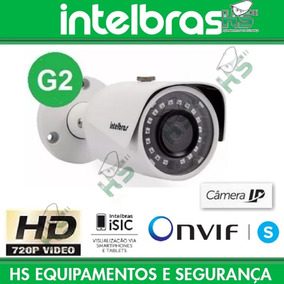 Câmera Intelbras Ip Vip S3020 G2 3,6mm Hd 720p Ir 20mts Poe
