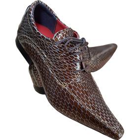 Sapato Social Couro De Cobra Masculino - Calçados, Roupas e Bolsas ... 1427b3bfa1