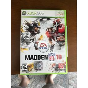 Jogo Xbox360 Madden Nfl 10 Usado