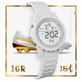24784ed6246 Relogio 18k Ronaldinho Gaucho - Relógios no Mercado Livre Brasil