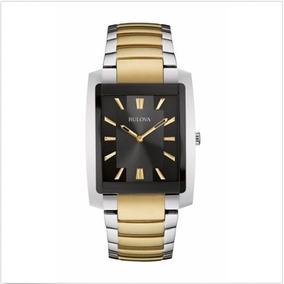 12780ef429b Relógio Bulova Quartz Dourado - Relógios no Mercado Livre Brasil