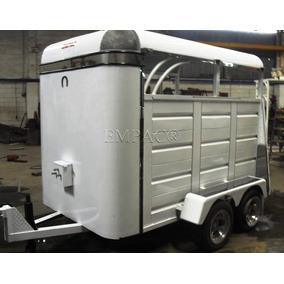 Carreta Remolque Para Transportar Caballos
