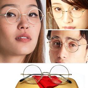 Armação Redonda Óculos John Lennon 4.7 Retro 4 Parafusos fd7bd44791