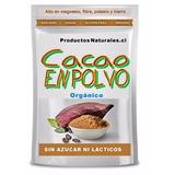 Cacao Organico - 100 % - 250 Gr. 1/4 Kilo