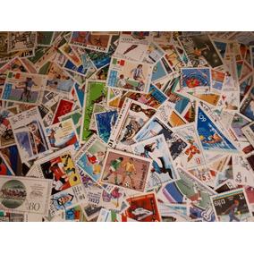 Lote Com 100 Selos Do Tema Esportes