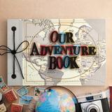 Album Para Fotos Our Adventure Book Mapa