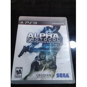 Alpha Protocol The Espionage Midia Fisica Ps3