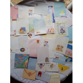 Papel De Carta 31 E 13 Envelopes Variados