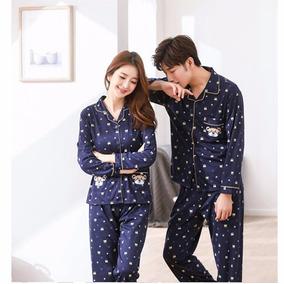 Conjunto Pijama Roupa De Descanso Estampado Lançamento # A47