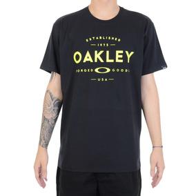 Camiseta Oakley Stablished Preta M Oficial bdf50bec286