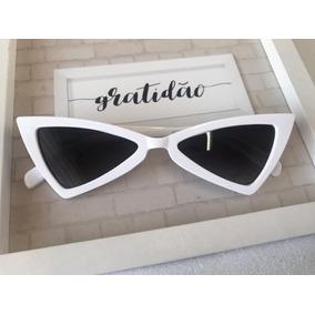 e2489cbc6f06a Óculos Coração Branco Retro Pin-up De Sol - Óculos no Mercado Livre ...