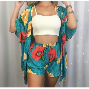 ecaaacaf30e Conjunto Adidas Verao Tamanho U - Short U Azul no Mercado Livre Brasil