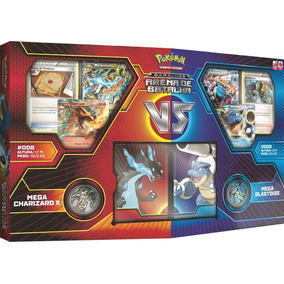 Deck Pokemon Arena De Batalha Mega Charizard X M Blastoise