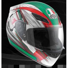 Nuevo Casco Agv K-4 Colores De México Rider One