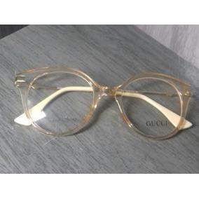 Óculos Gucci Gatinho Armacao Armacoes - Óculos no Mercado Livre Brasil 0136254895