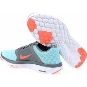 Tenis Nike Fs Lite Running 3 Para Dama 8 Su 25 Cm