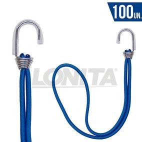 Elástico De Lona Agarra Lona Caminhão 100un Azul Lonita