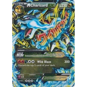 Carta Pokemon Mega Charizard Ex