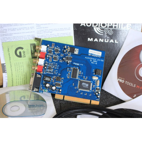 Placa M-audio Audiophile 2496 Pci *impecável*