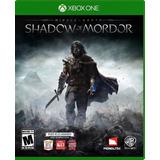 Juego Shadow Of Mordor Xbox One Usado Original