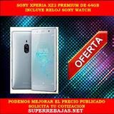 Sony Xperia Xz2 Premium De 64gb En Caja Sellada Y Reloj