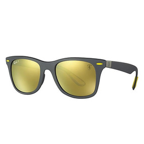 706deebde827a Óculos Ray-ban Rb4195 Wayfarer Liteforce Ferrari + Brinde