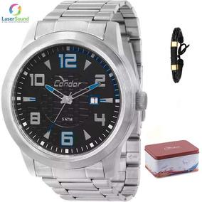 Relógio Condor Kit Masculino Co2115tv/k3a, C/ Garantia E Nf