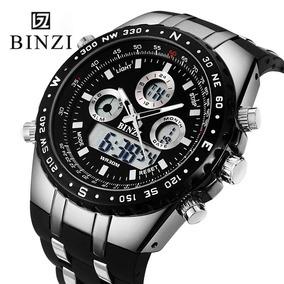 23df536ce3c Maravilhoso Relógio Masculino Haixia Led Na Caixa Leilão 1