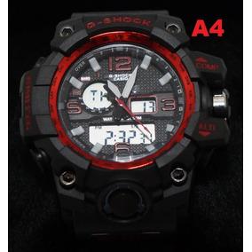 a6c56ed5b3d G Shock Vermelho Esportivo Masculino - Relógio Masculino no Mercado ...