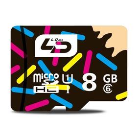 Memoria Micro Sd 6 Tf Sdhc Clase Ld 8 Gb Veloc Drtx